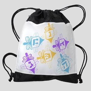 Dreidels Drawstring Bag