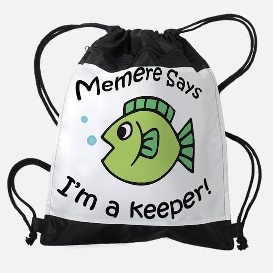 memere4.png Drawstring Bag