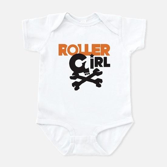 Rollergirl Skull Logo Infant Bodysuit