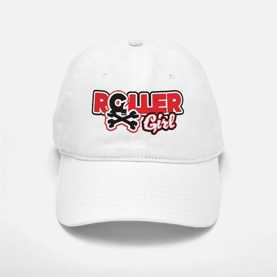 The Original Rollergirl Skull Baseball Baseball Cap