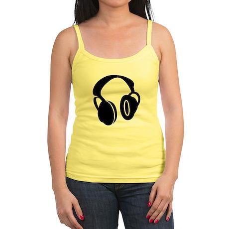 DJ Headphones Jr. Spaghetti Tank