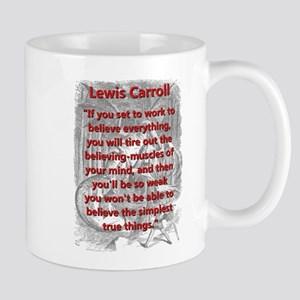If You Set To Work - L Carroll Mugs