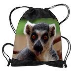 Lemur Drawstring Bag