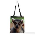 Lemur Polyester Tote Bag