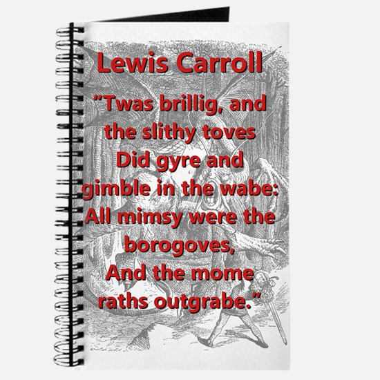 Jabberwocky 1 and 7 - L Carroll Journal
