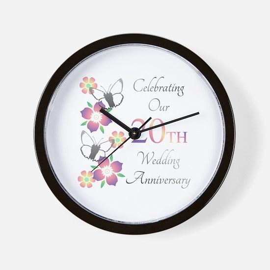 Cute Unique anniversary Wall Clock