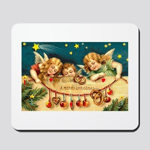 Cute Victorian Christmas Angels with Sugarplums Mo