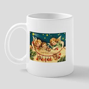 Cute Victorian Christmas Angels with Sugarplums Mu