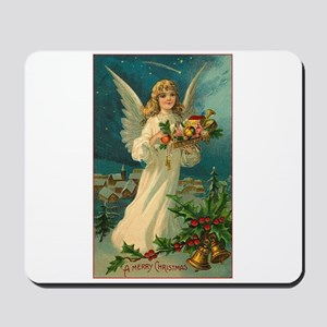 Victorian Angel - A Merry Christmas Mousepad