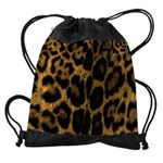 Jaguar Print Drawstring Bag
