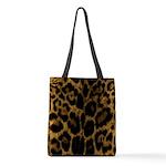 Jaguar Print Polyester Tote Bag
