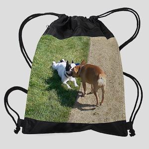 louieandava11-5x9calendar Drawstring Bag