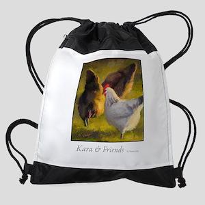 Kara and Friends Drawstring Bag