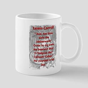 Jabberwocky 6 - L Carroll Mugs