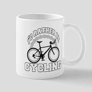 Rather Be Cycling 11 oz Ceramic Mug