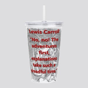 No No The Adventures First - L Carroll Acrylic Dou