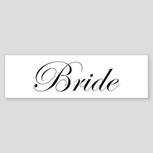 Bride's Sticker (Bumper)