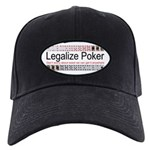 Legalize Poker Black Cap