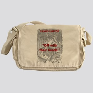 Off With Their Heads - L Carroll Messenger Bag