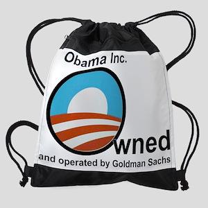 Obama-owned-by-Goldman-3 Drawstring Bag