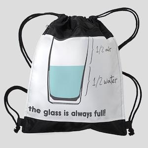 always full Drawstring Bag
