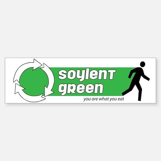 Soylent Green Bumper Bumper Bumper Sticker