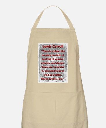 There Is A Place - L Carroll Light Apron