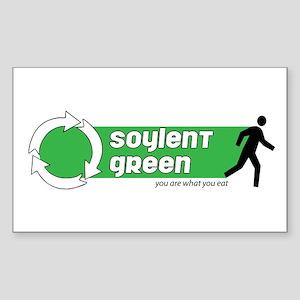 Soylent Green Rectangle Sticker