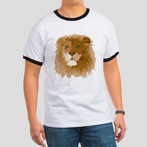 Realistic Lion Ringer T