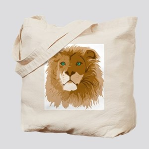 Realistic Lion Tote Bag