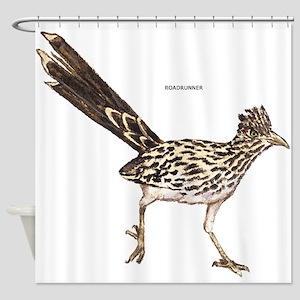 Roadrunner Desert Bird Shower Curtain