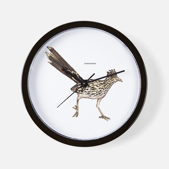 Roadrunner Desert Bird Wall Clock