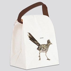 Roadrunner Desert Bird Canvas Lunch Bag
