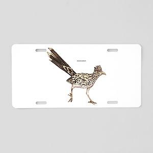 Roadrunner Desert Bird Aluminum License Plate