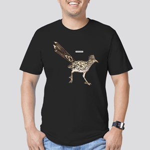 Roadrunner Desert Bird Men's Fitted T-Shirt (dark)