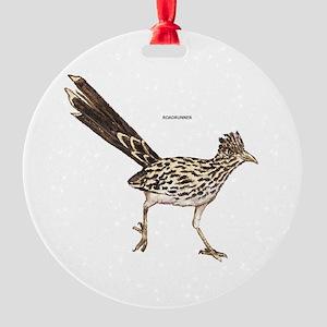 Roadrunner Desert Bird Round Ornament