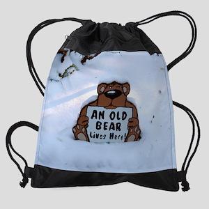 Old Bear Drawstring Bag