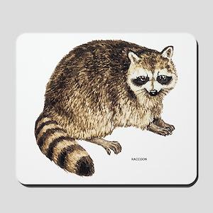 Raccoon Coon Animal Mousepad