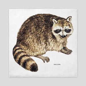 Raccoon Coon Animal Queen Duvet