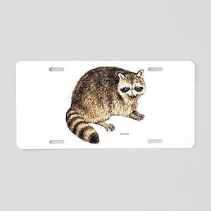Raccoon Coon Animal Aluminum License Plate