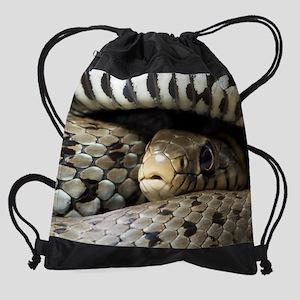 Snake Drawstring Bag