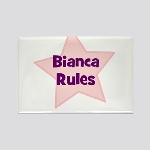 Bianca Rules Rectangle Magnet