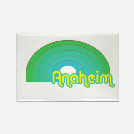Cute Anaheim Rectangle Magnet