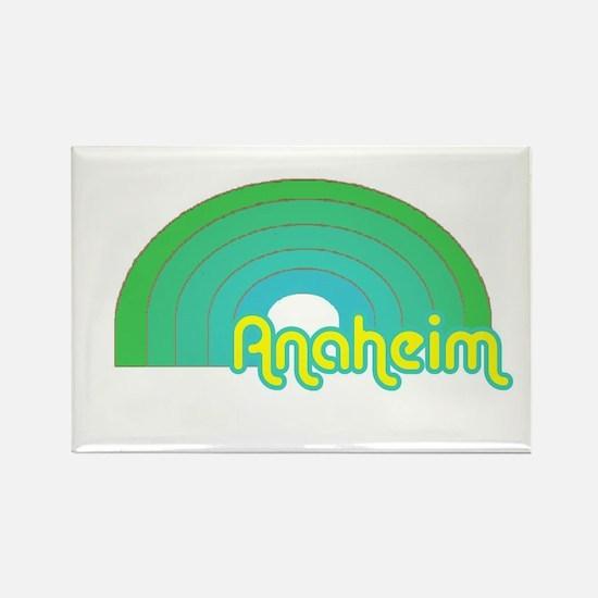 Unique Anaheim california Rectangle Magnet