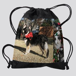 12dec xanadu Drawstring Bag