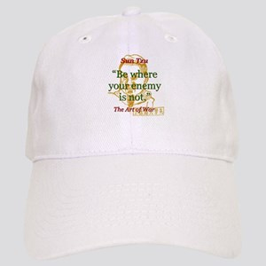 Be Where Your Enemy Is Not - Sun Tzu Baseball Cap