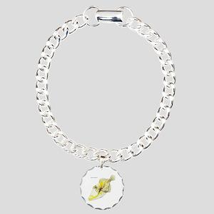 Picasso Triggerfish Fish Charm Bracelet, One Charm