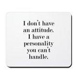Funny sayings Classic Mousepad