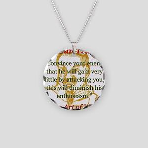 Convince Your Enemy - Sun Tzu Necklace