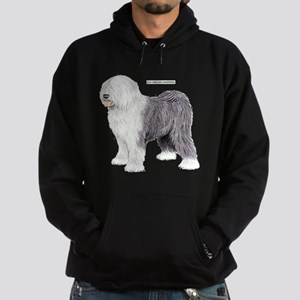 Old English Sheepdog Dog Hoodie (dark)